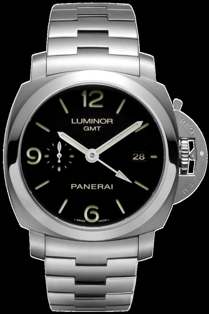 Mens Panerai Luminor 1950 3 Days GMT Watches