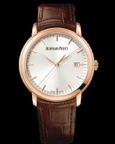 Audemars Piguet Jules Audemars  Automatic Men's Watch, 18K Rose Gold, Silver Dial, 15170OR.OO.A088CR.01