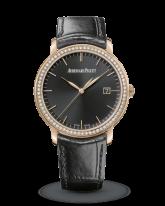 Audemars Piguet Jules Audemars  Automatic Men's Watch, 18K Rose Gold, Black Dial, 15171OR.ZZ.A002CR.01
