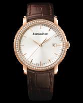 Audemars Piguet Jules Audemars  Automatic Men's Watch, 18K Rose Gold, Silver Dial, 15171OR.ZZ.A088CR.01