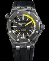 Audemars Piguet Royal Oak Offshore Alinghi Limited Edition Automatic Men's Watch, Carbon Fiber, Black Dial, 15706AU.00.A002CA.01