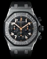 Audemars Piguet Royal Oak Offshore  Chronograph Automatic Men's Watch, Stainless Steel, Black Dial, 26211SK.ZZ.D002CA.01