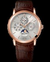 Audemars Piguet Jules Audemars  Perpetual Calendar Men's Watch, 18K Rose Gold, Silver Dial, 26390OR.OO.D088CR.01