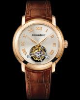 Audemars Piguet Jules Audemars  Tourbillon Men's Watch, 18K Rose Gold, Silver Dial, 26561OR.OO.D088CR.01