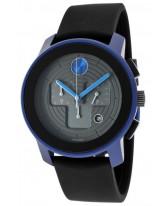 Movado Bold  Quartz Men's Watch, Aluminum, Black Dial, 3600108
