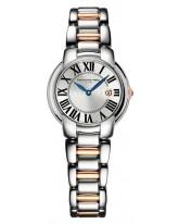 Raymond Weil Jasmine  Quartz Women's Watch, Gold Tone, Silver Dial, 5229-S5-00659