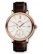 IWC Portofino  Mechanical Men's Watch, 18K Rose Gold, Silver Dial, IW510107