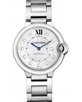 Cartier Ballon Bleu  Automatic Women's Watch, Stainless Steel, Silver Dial, WE902075