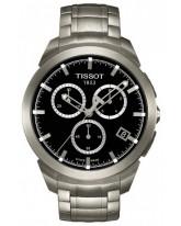 Tissot Titanium  Quartz Men's Watch, Titanium, Black Dial, T069.417.44.051.00