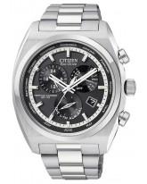 Citizen Eco-Drive  Quartz Men's Watch, Stainless Steel, Black Dial, BL8120-52E