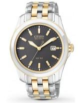 Citizen   Eco-Drive Men's Watch, Titanium, Black Dial, BM6734-55E