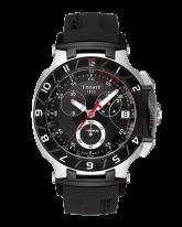 Tissot T Race  Chronograph Quartz Men's Watch, Stainless Steel, Black Dial, T048.417.27.051.00