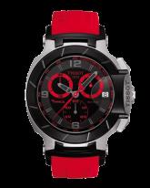 Tissot T Race  Chronograph Quartz Men's Watch, Stainless Steel, Black Dial, T048.417.27.057.02
