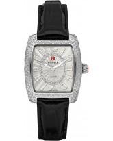 Michele Urban  Quartz Women's Watch, Stainless Steel, Silver & Diamonds Dial, MWW02A000574
