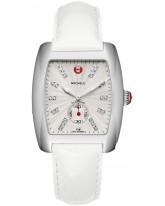 Michele Urban  Quartz Women's Watch, Stainless Steel, Silver & Diamonds Dial, MWW02T000015