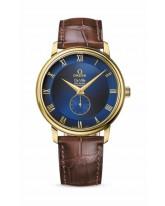 Omega De Ville  Automatic Men's Watch, 18K Yellow Gold, Blue Dial, 4613.80.02