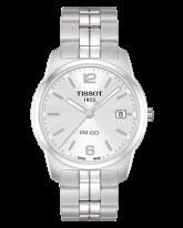 Tissot PR100  Quartz Men's Watch, Stainless Steel, Silver Dial, T049.410.11.037.01