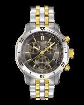 Tissot PRS200  Chronograph Quartz Men's Watch, Stainless Steel, Black Dial, T067.417.22.051.00