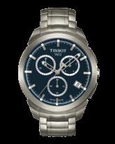 Tissot Titanium  Quartz Men's Watch, Titanium, Blue Dial, T069.417.44.041.00