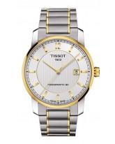 Tissot Titanium  Automatic Men's Watch, Titanium, Silver Dial, T087.407.55.037.00