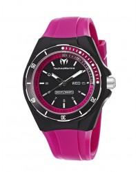 Technomarine   Quartz Mid-Size Watch, Stainless Steel, Black Dial, 110013