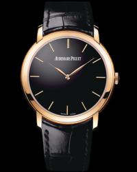 Audemars Piguet Jules Audemars  Automatic Men's Watch, 18K Rose Gold, Black Dial, 15180OR.OO.A002CR.01