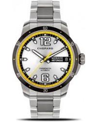 Chopard Grand Prix  Automatic Men's Watch, Titanium, Silver Dial, 158568-3001