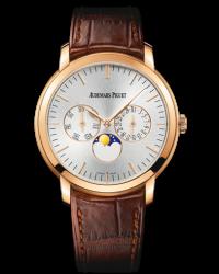 Audemars Piguet Jules Audemars  Automatic Men's Watch, 18K Rose Gold, Silver Dial, 26385OR.OO.A088CR.01