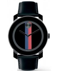 Movado Bold  Quartz Men's Watch, Composite Material, Black Dial, 3600224