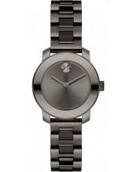 Movado Bold  Quartz Women's Watch, Gunmetal, Grey Dial, 3600236