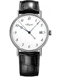 Breguet Classique  Automatic Men's Watch, 18K White Gold, White Dial, 5178BB/29/9V6.D000