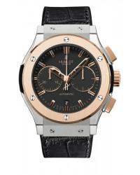 Hublot Classic Fusion 45mm  Chronograph Automatic Men's Watch, Titanium, Black Dial, 521.NO.1180.LR