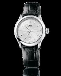 Oris Artelier  Automatic Men's Watch, Stainless Steel, Silver Dial, 561-7604-4031-07-5-16-71FC