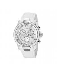 Technomarine   Chronograph Quartz Women's Watch, Stainless Steel, White Mother Of Pearl Dial, 609009
