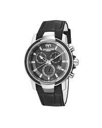 Technomarine   Chronograph Quartz Women's Watch, Stainless Steel, Black Dial, 609010