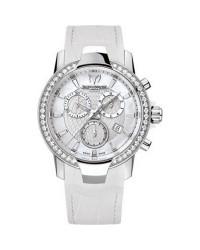 Technomarine   Chronograph Quartz Women's Watch, Stainless Steel, White Mother Of Pearl Dial, 609016