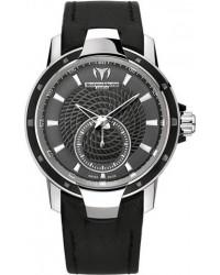 Technomarine   Quartz Men's Watch, Stainless Steel, Black Dial, 609021