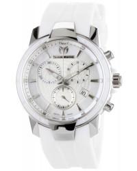 Technomarine   Chronograph Quartz Women's Watch, Stainless Steel, White Dial, 610007