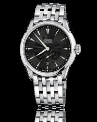 Oris Artelier  Automatic Men's Watch, Stainless Steel, Black Dial, 623-7582-4074-07-8-21-73