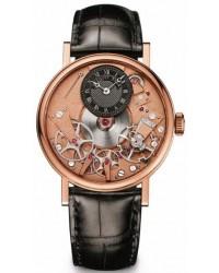 Breguet Tradition  Manual Winding Men's Watch, 18K Rose Gold, Skeleton Dial, 7027BR/R9/9V6