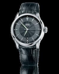 Oris Artelier  Automatic Men's Watch, Stainless Steel, Black Dial, 733-7591-4054-07-5-21-71FC
