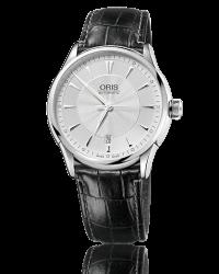 Oris Artelier  Automatic Men's Watch, Stainless Steel, Silver Dial, 733-7591-4091-07-5-21-71FC