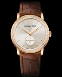 Audemars Piguet Jules Audemars  Mechanical Women's Watch, 18K Rose Gold, Silver Dial, 77239OR.ZZ.A088CR.01
