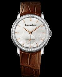 Audemars Piguet Jules Audemars  Mechanical Women's Watch, 18K White Gold, Mother Of Pearl Dial, 77240BC.ZZ.A808CR.01