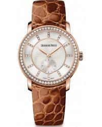 Audemars Piguet Jules Audemars  Mechanical Women's Watch, 18K Rose Gold, Silver Dial, 77240OR.ZZ.A811CR.01