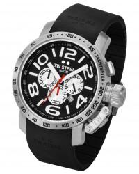 TW Steel Canteen  Chronograph Quartz Men's Watch, Stainless Steel, Black Dial, TW-Steel-TW40