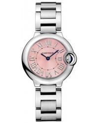 Cartier Ballon Bleu  Quartz Women's Watch, Stainless Steel, Pink Dial, W6920038