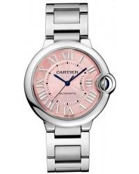 Cartier Ballon Bleu  Quartz Women's Watch, Stainless Steel, Pink Dial, W6920041