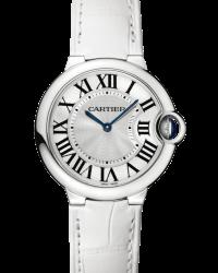 Cartier Ballon Bleu  Quartz Women's Watch, Stainless Steel, Silver Dial, W6920087