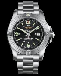 Breitling Colt  Super-Quartz Men's Watch, Stainless Steel, Black Dial, A7438811.BD45.173A
